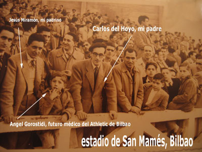 Estadio del Athletic Club de Bilbao, circa 1950