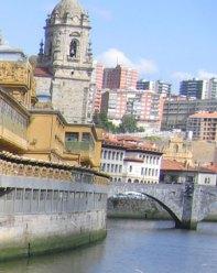 Bilbao, azul eléctrico