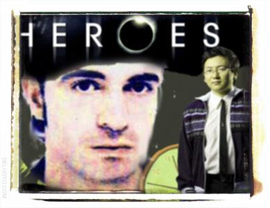 Héroes, Hiro Nakamura e Ibán Ortega Romo