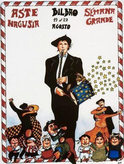 Juan Carlos Eguillor, Cartel Aste Nagusia de Bilbao 1978