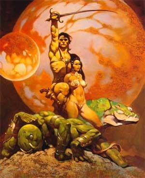 John Carter de Marte y la pricesa Dejah Toris