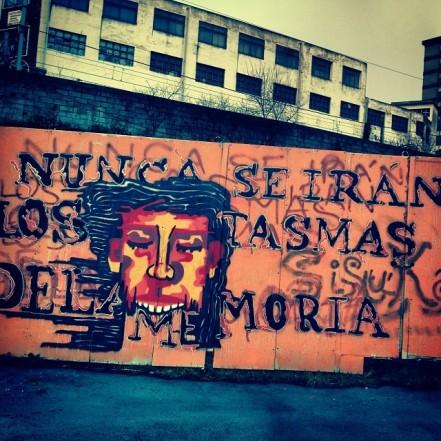 #ghost of #memory #bilbao #fantasma #memoria #graffiti