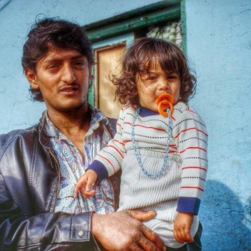 #Chabolismo en #Bizkaia, foto para un #reportaje y Medio extranjero #circa 1990 #Erandio